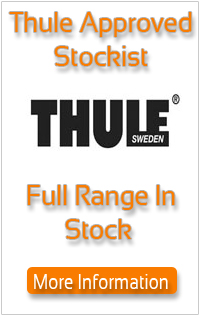 Thule Approved dealler full range in stock and on display