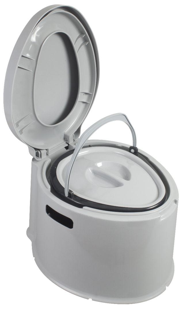 Camping caravan festival kampa khazi compact portable for Toilettes chimiques portables